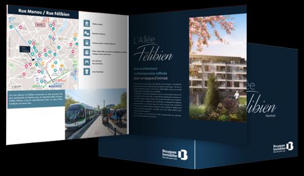Plan d'accès personnalisé Bouygues Immobilier