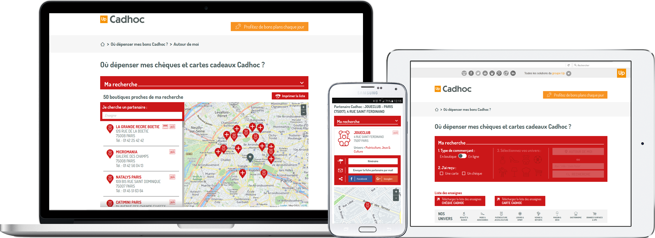 Partner Locator Cadhoc