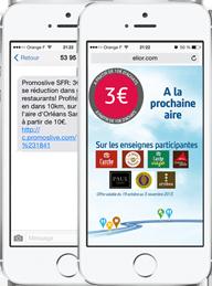 Publicité mobile géolocalisée