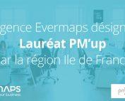 Evermaps lauréat PM'up