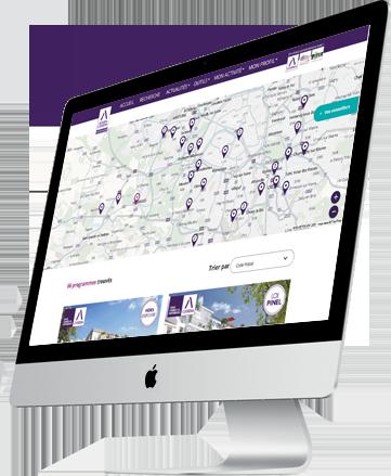 Cartographie décisionnelle online Cogedim