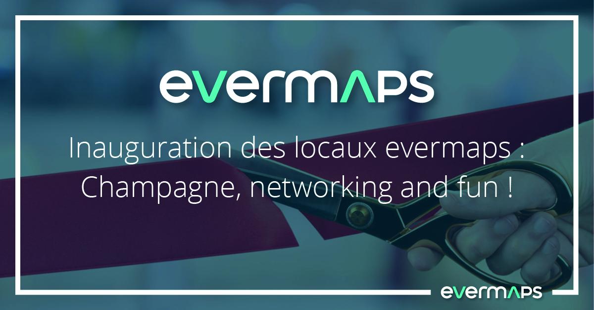 Inauguration locaux evermaps