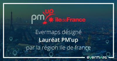 evermaps lauréat PM'up