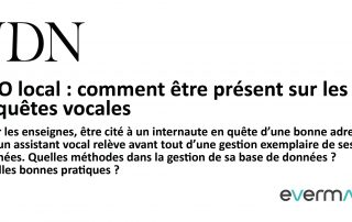 JDN - Article - Optimiser son SEO local vocal