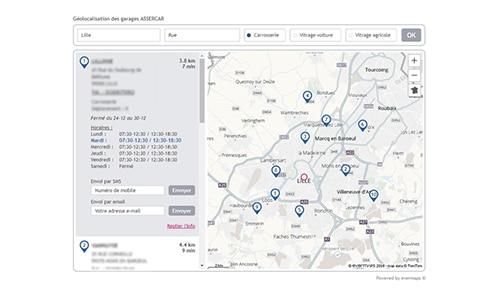 Solutions métiers attribution de leads par evermaps