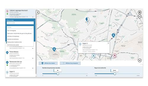 Solutions métiers portfolio locator par evermaps