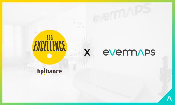 evermaps est fier de faire partie du réseau Excellence de BPI France