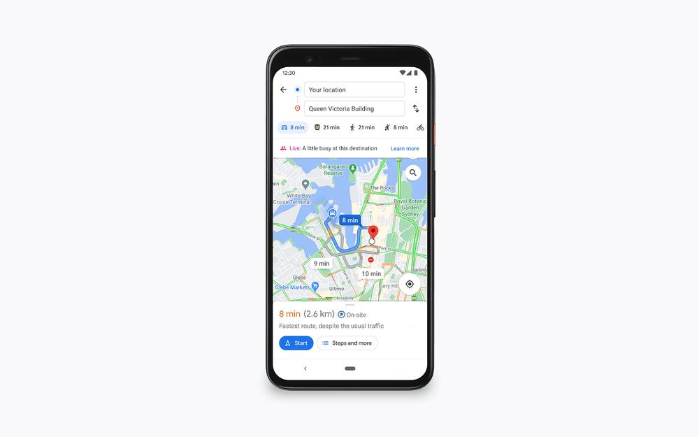 La fréquentation en temps réel s'affichera aussi sur les itinéraires